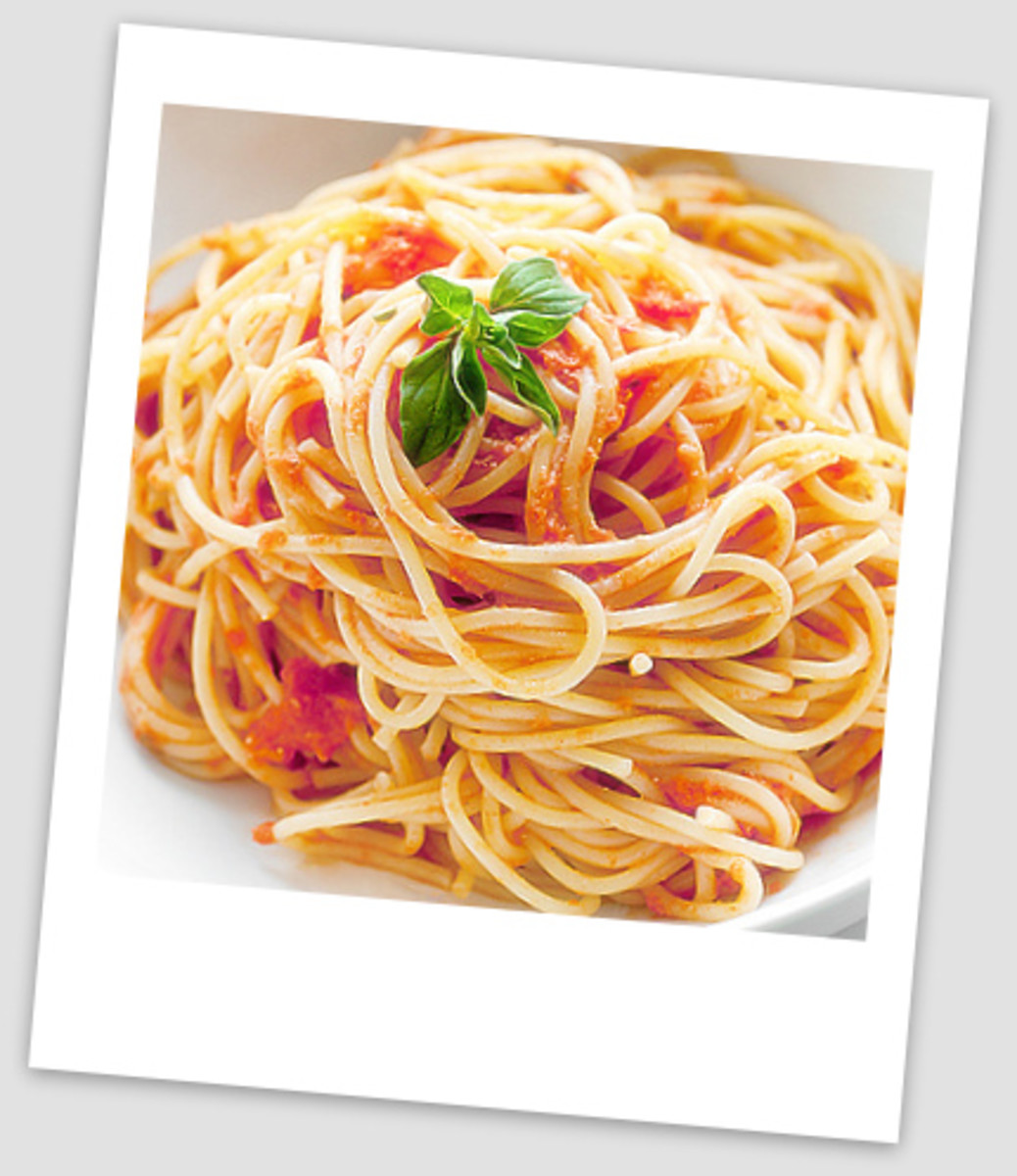 Cooked Sphagetti
