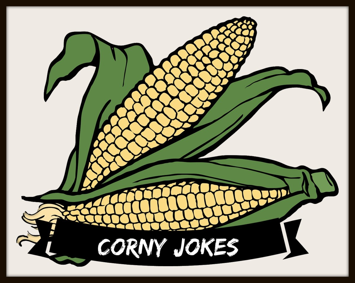 Corny jokes stated with a seed catalogue.