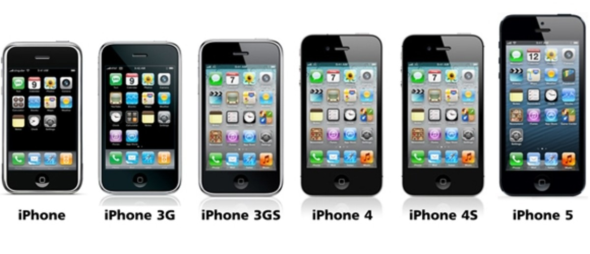 The evolution of Apple's signature iPhones