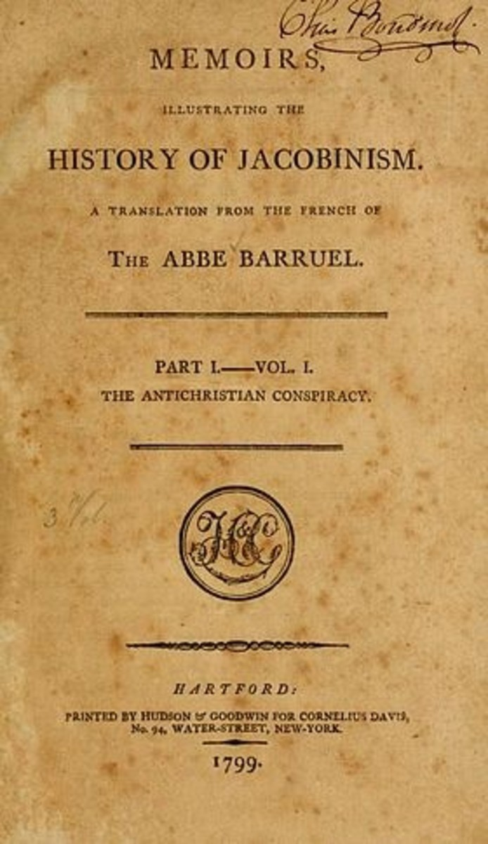 Memoirs Illustrating the History of Jacobinism (French: Mémoires pour servir à l'histoire du Jacobinisme) is a book by Abbé Augustin Barruel, a French Jesuit priest. It was written and published in French in 1797-98, and translated into English in 17