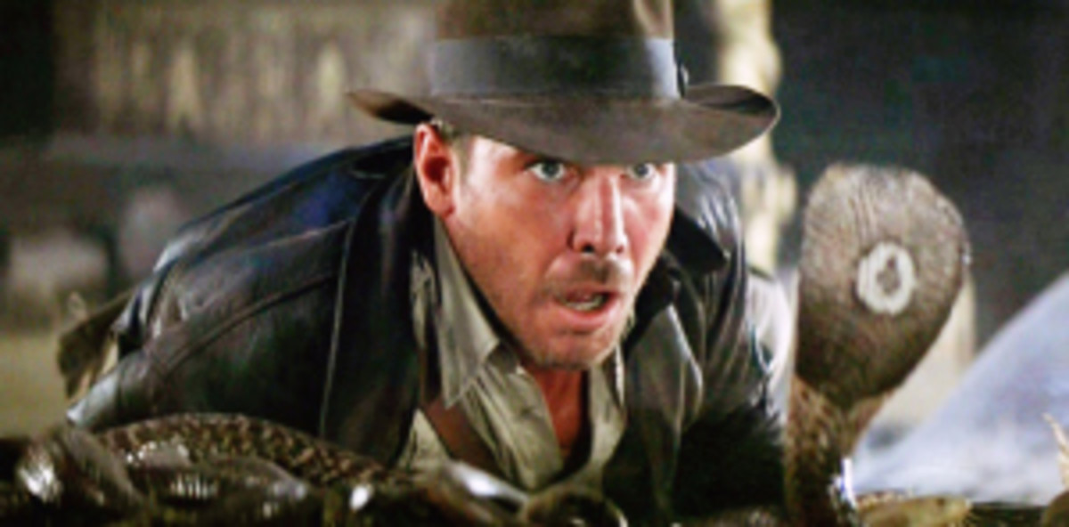 Indy confronts his fears.