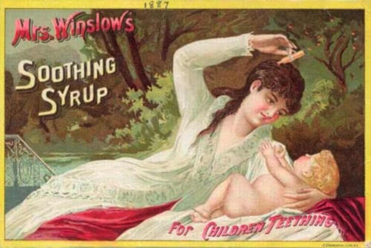 Even Babies were fed Opiates in the Victorian Era, as the Infant Mortality Rates Climaxed