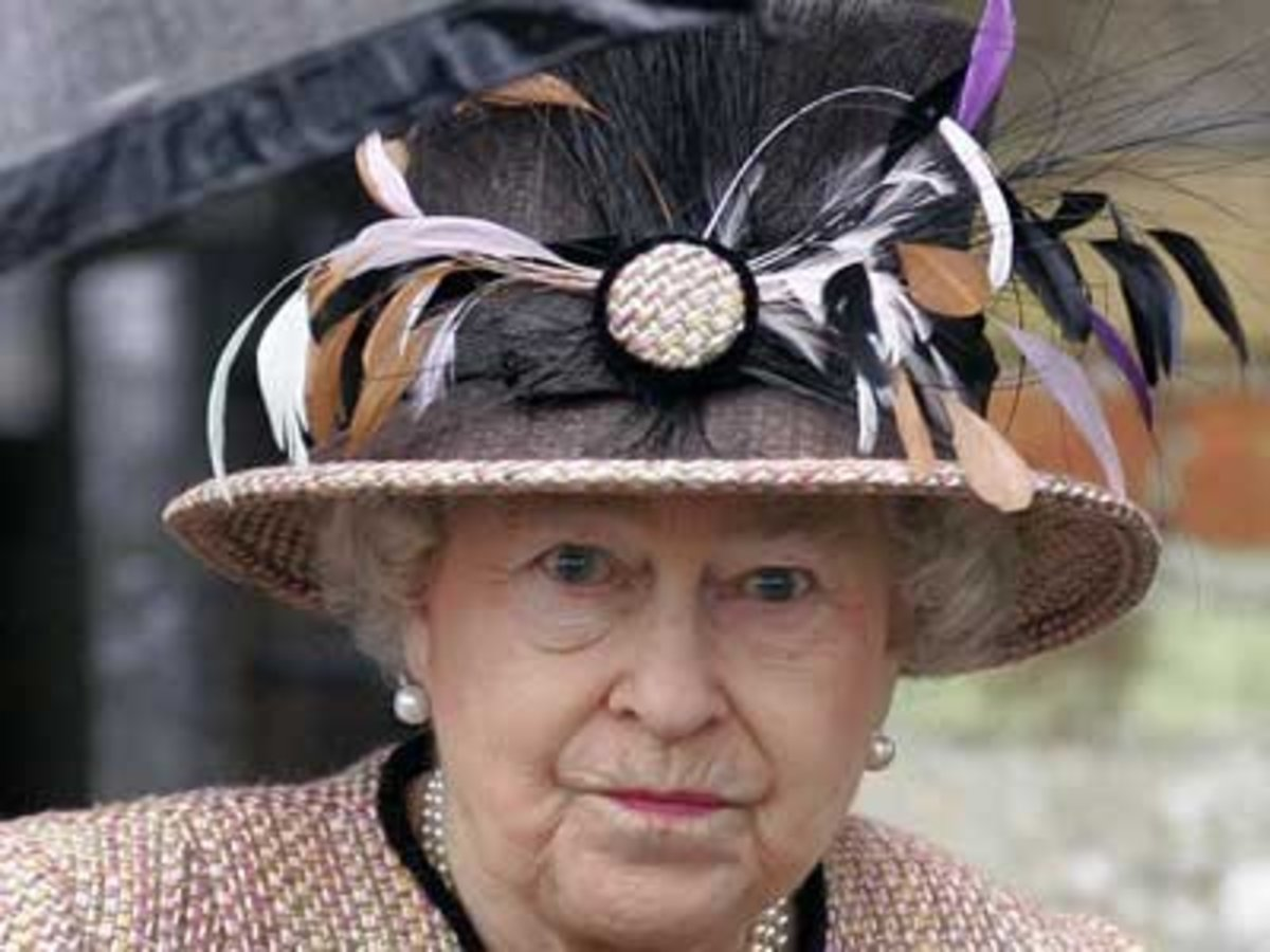 Elizabeth II retains royal title over The British Commonwealth and as such manages to keep her face on money throughout the globe.