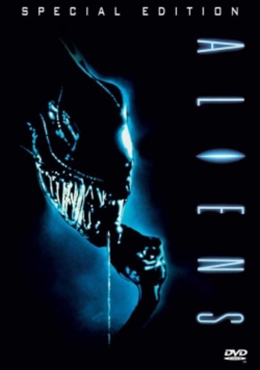 Aliens poster science fiction movie