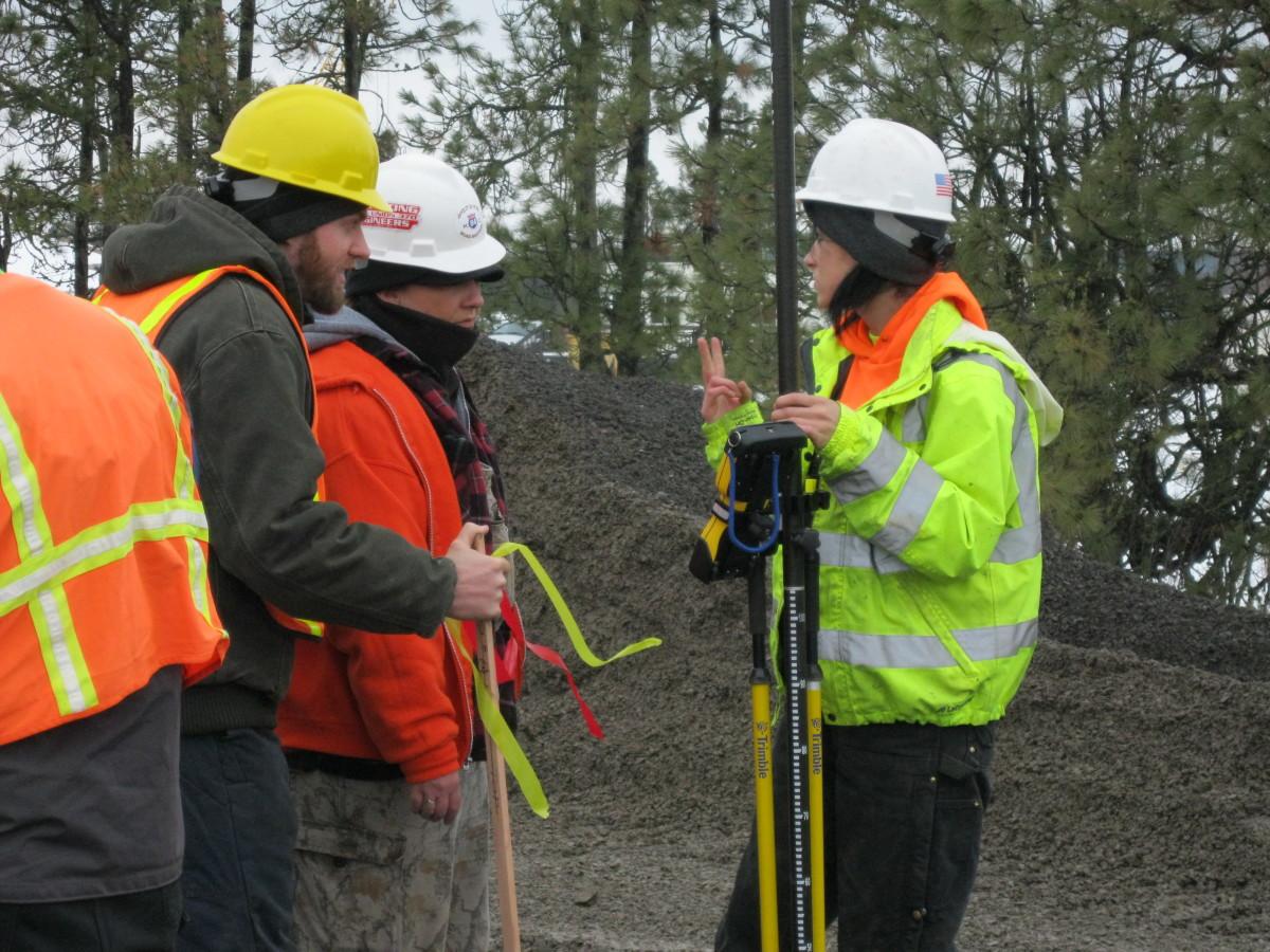 Checking Ground Status for Crane Operation
