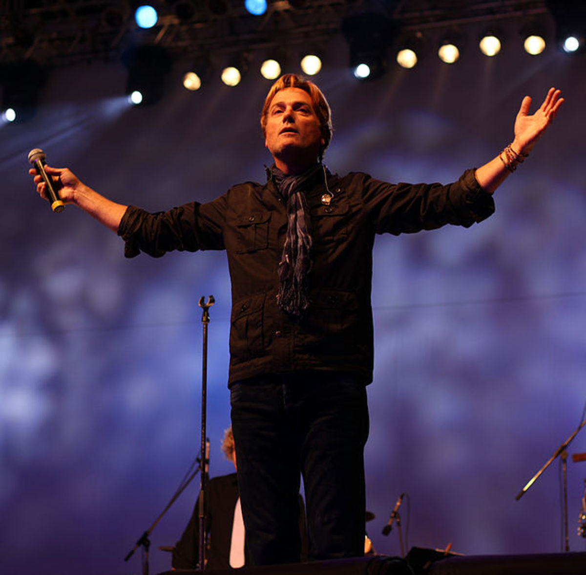 Michael W. Smith in concert, 2010. Friends was co-written and recorded by Michael W. Smith.