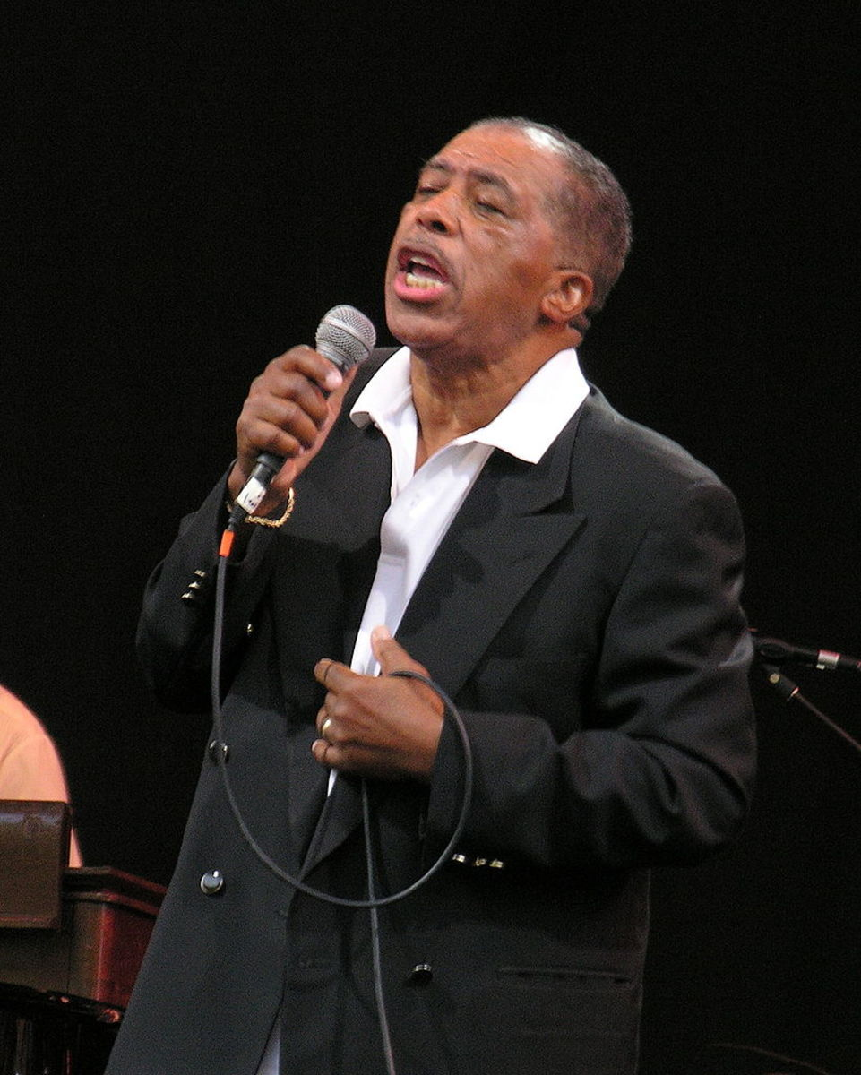 Ben E. King in concert in New York City, 2007. Ben Co-wrote and recorded Stand By Me.