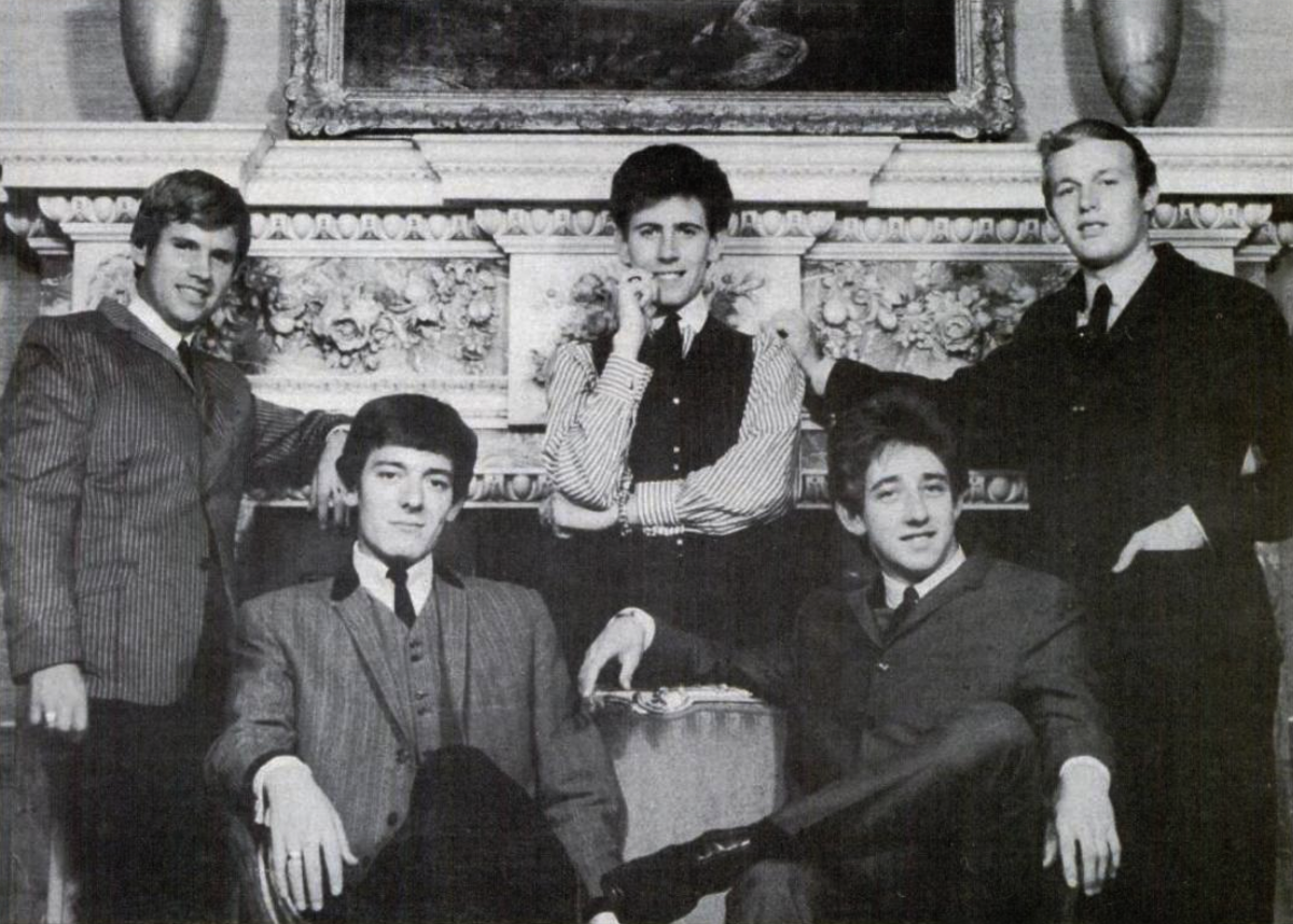 The Hollies 1965.