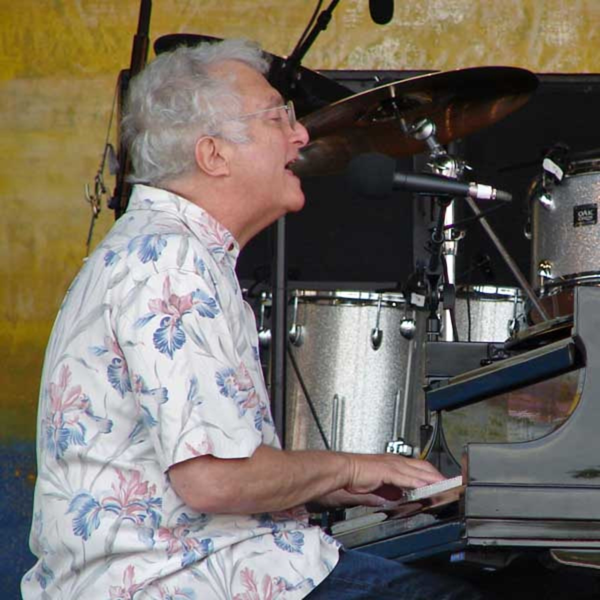 Randy Newman at the New Orleans Jazz & Heritage Festival in 2008. Randy wrote and performed You've got a Friend in Me for the movie Toy Story.