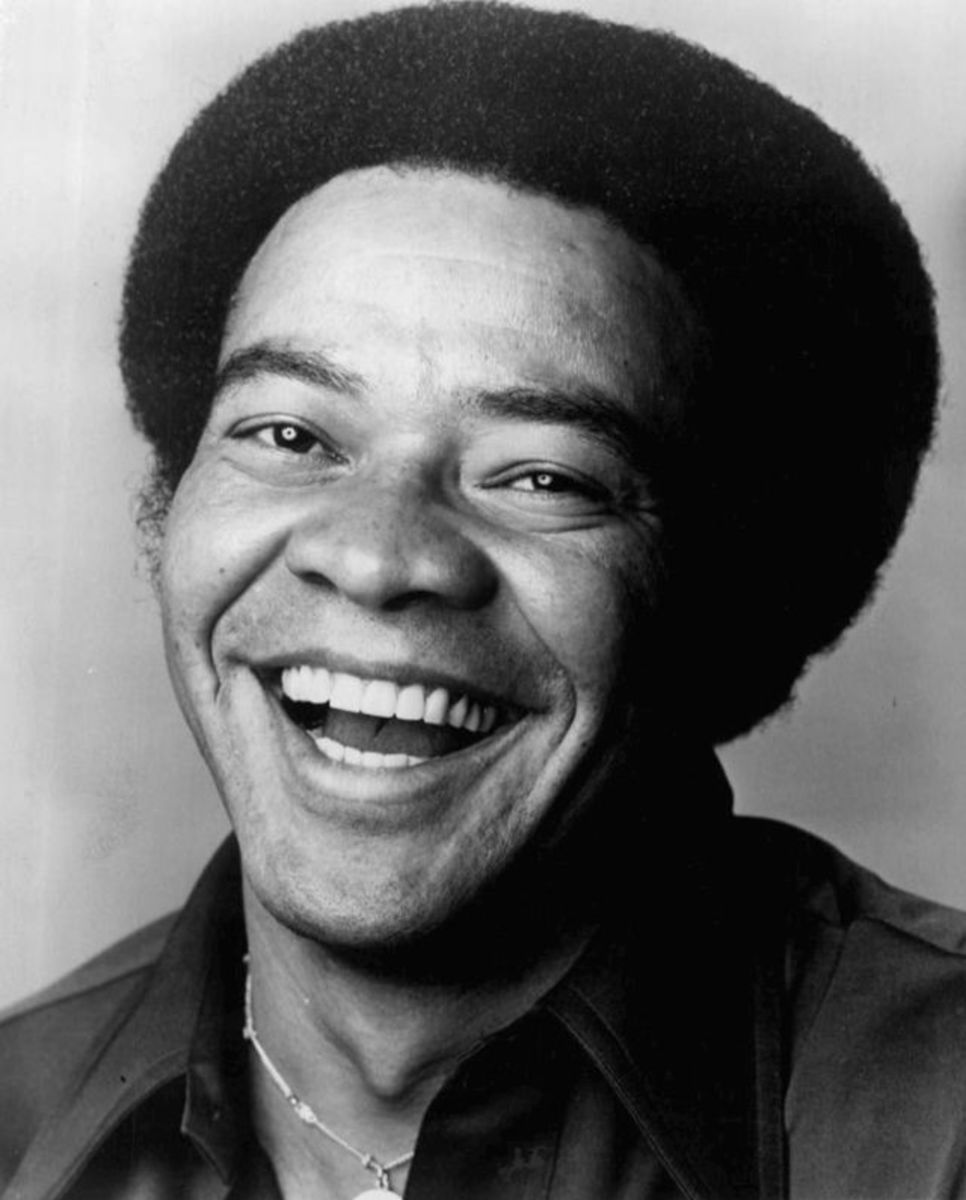 Bill Withers 1976. Bill wrote and recorded Lean on Me.