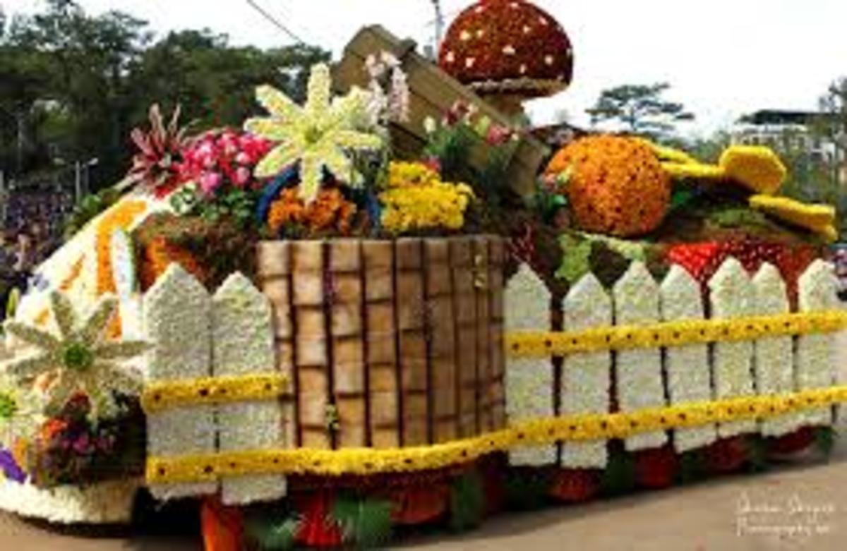 Flower Parade Panagbenga