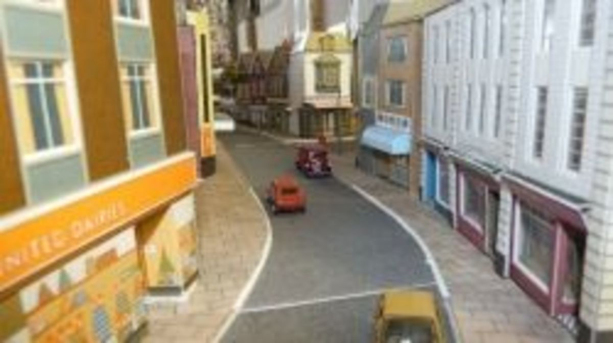 Building a Streetscape - Model Railways in OO Gauge