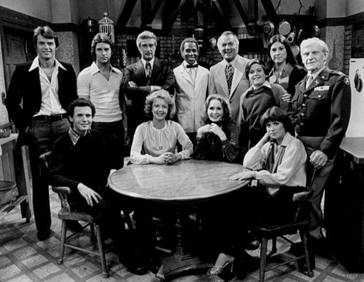 The complete cast of Soap, 1977 season