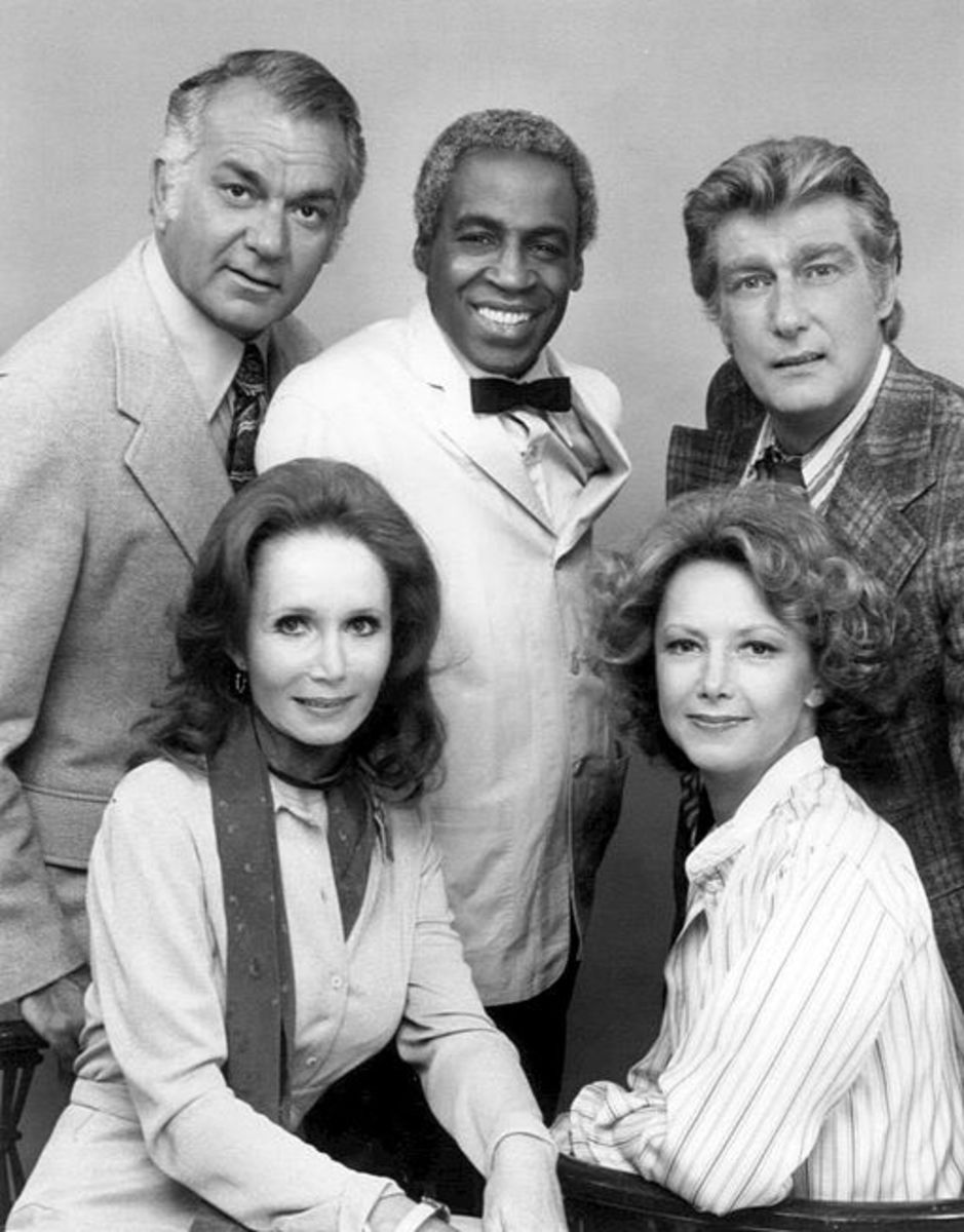Cast members from the TV Show Soap, 1977 season
