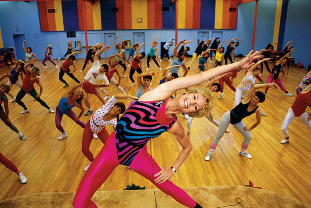 Although a work-out may seem like the perfect couples activity, a room full of lycra-wearing women may not be the best solution for a jealous couple...