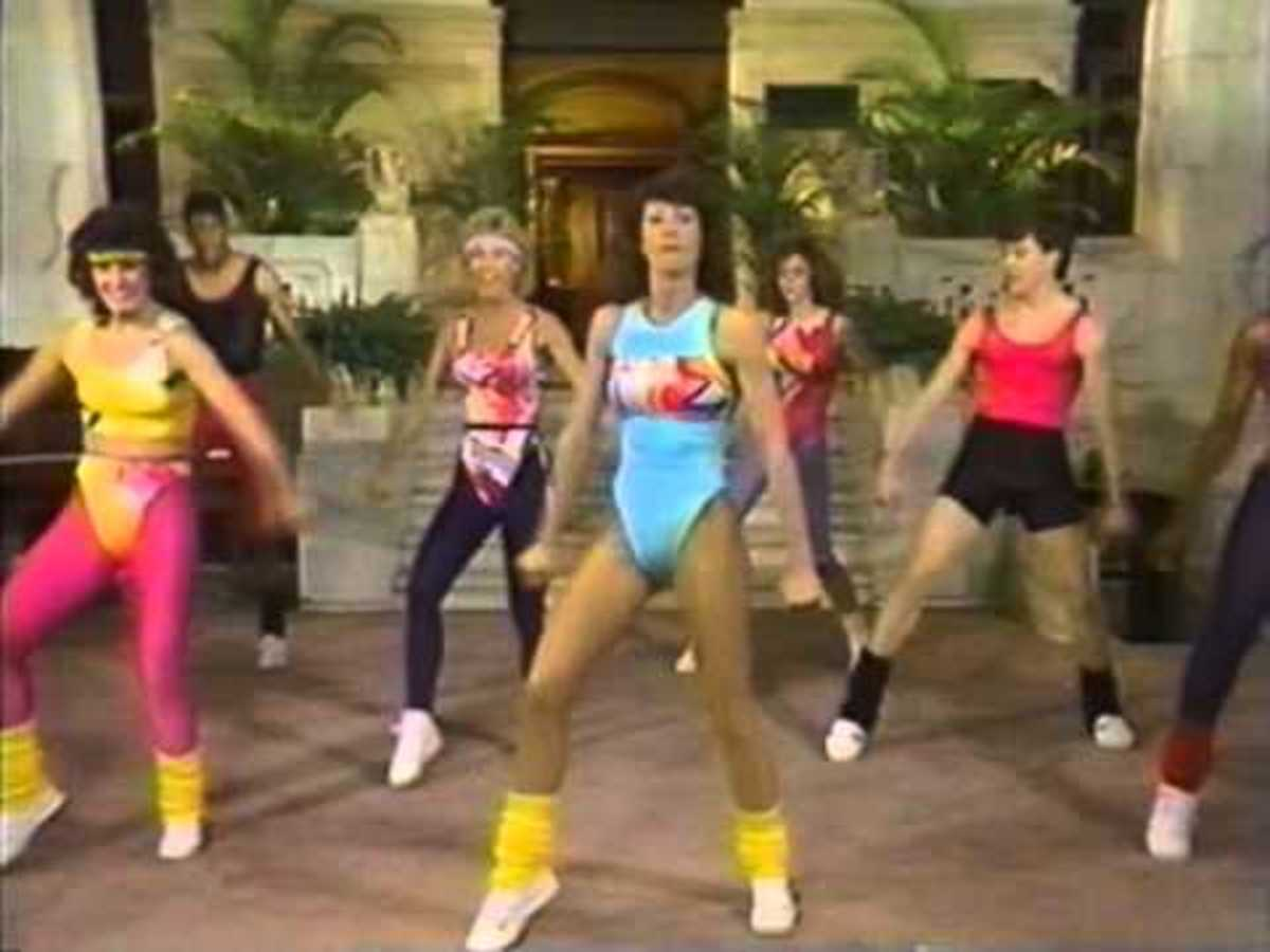 In 1986 there was a national Aerobics Championship, also a true story...