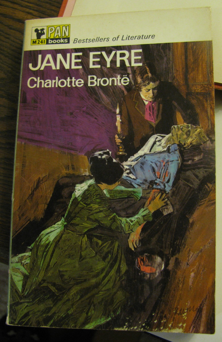 My well-thumbed edition of 'Jane Eyre' by Charlotte Bronte