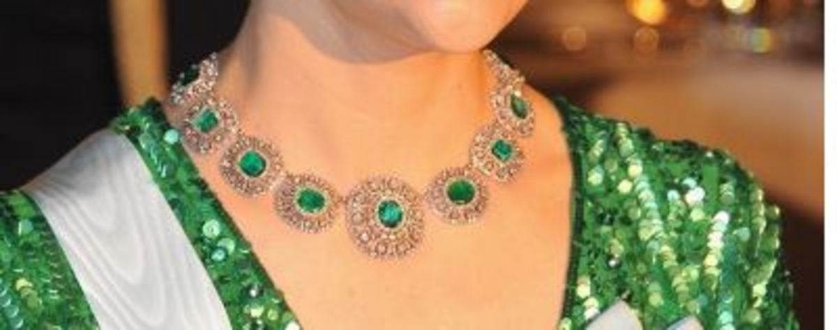 The Bernadotte emeralds belong to the Swedish Royal family.