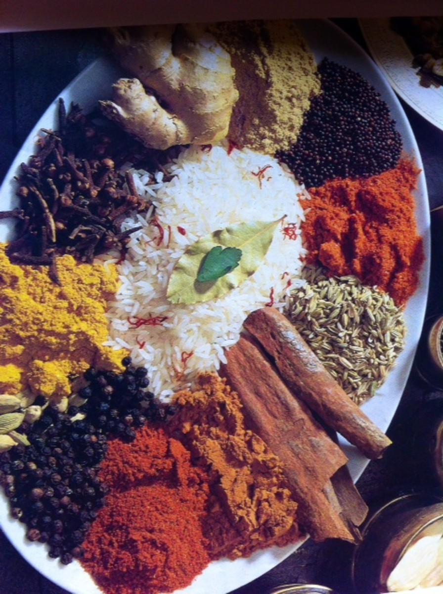 The aromatic and nutritious Spices