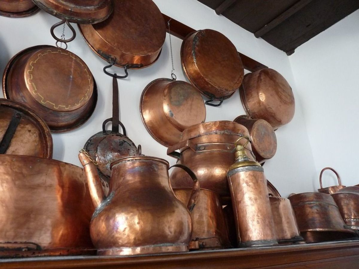 Traditional Indian Kitechen Utensils