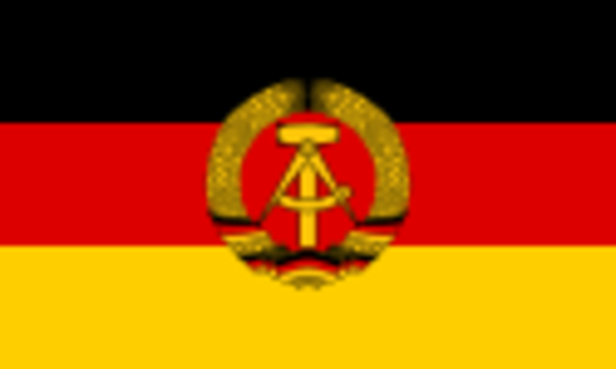 From 1949 to 1990, the region of Germany which was occupied by Soviet forces at the end of the World War II.