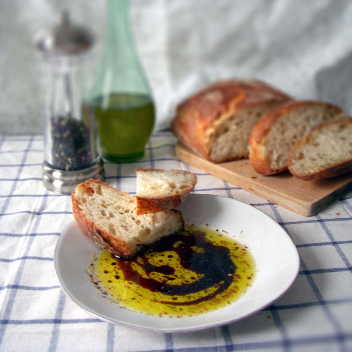 Bread + Balsamic + Olive Oil = Instant Hangover Prevention