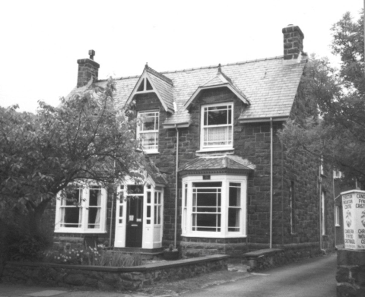 The birthplace of  T.E. Lawrence in Tremadog Wales.