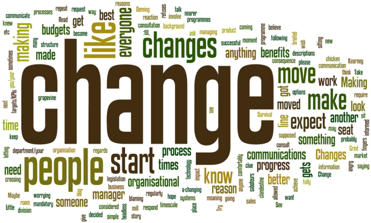 Is change always a positive thing?