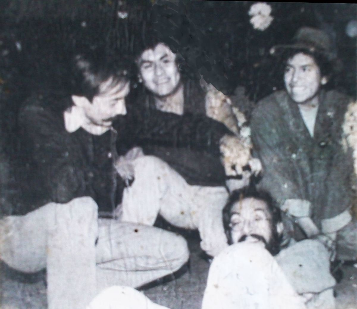 Ricardo Huet, Hugo Montero, Ruben Sadot, Augustine? photo taken by Gerardo Amor