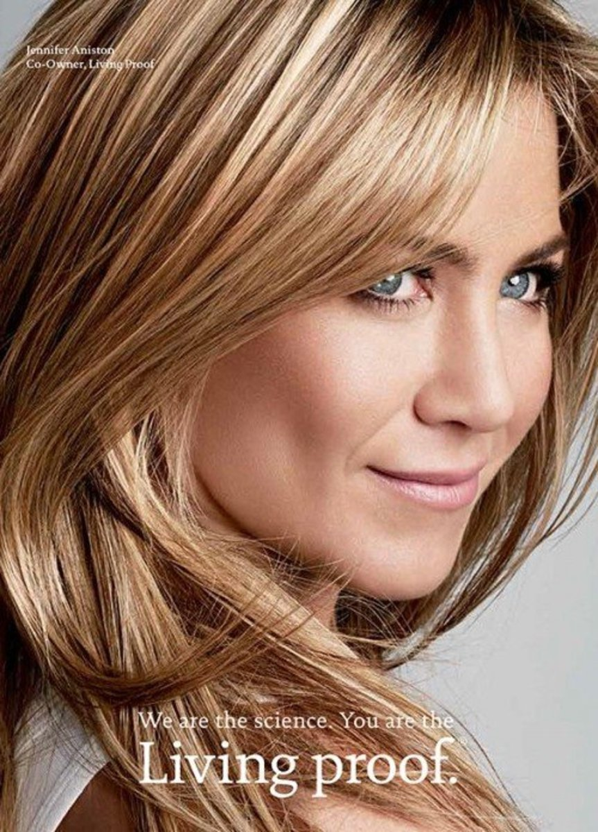 Jennifer Aniston for Living Proof Sulfate Free Shampoo & Silicone Free Hair Care