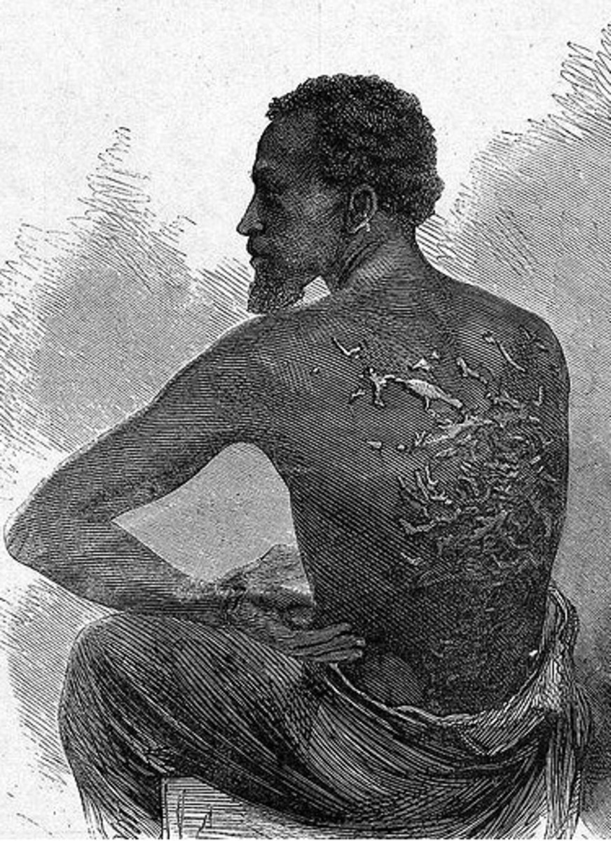 The life of a slave on a US plantation, mid-1800's.