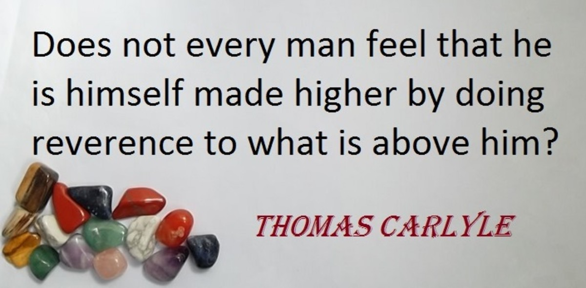 Quote about reverence by Thomas Carlyle
