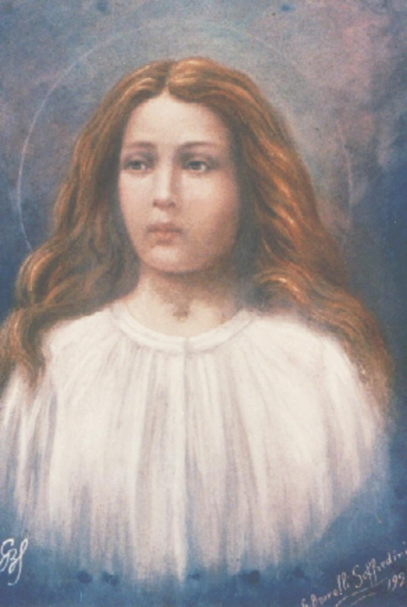 Maria Goretti born 1890 died 1902 is a Roman Catholic saint