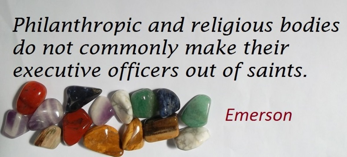 Quote about religion by Emerson