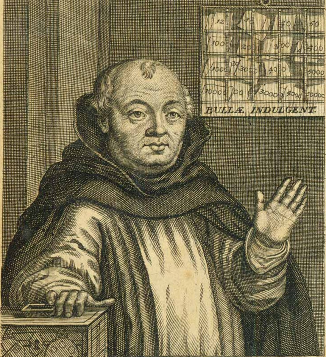 John (Johann) Tetzel was a Roman Catholic preacher