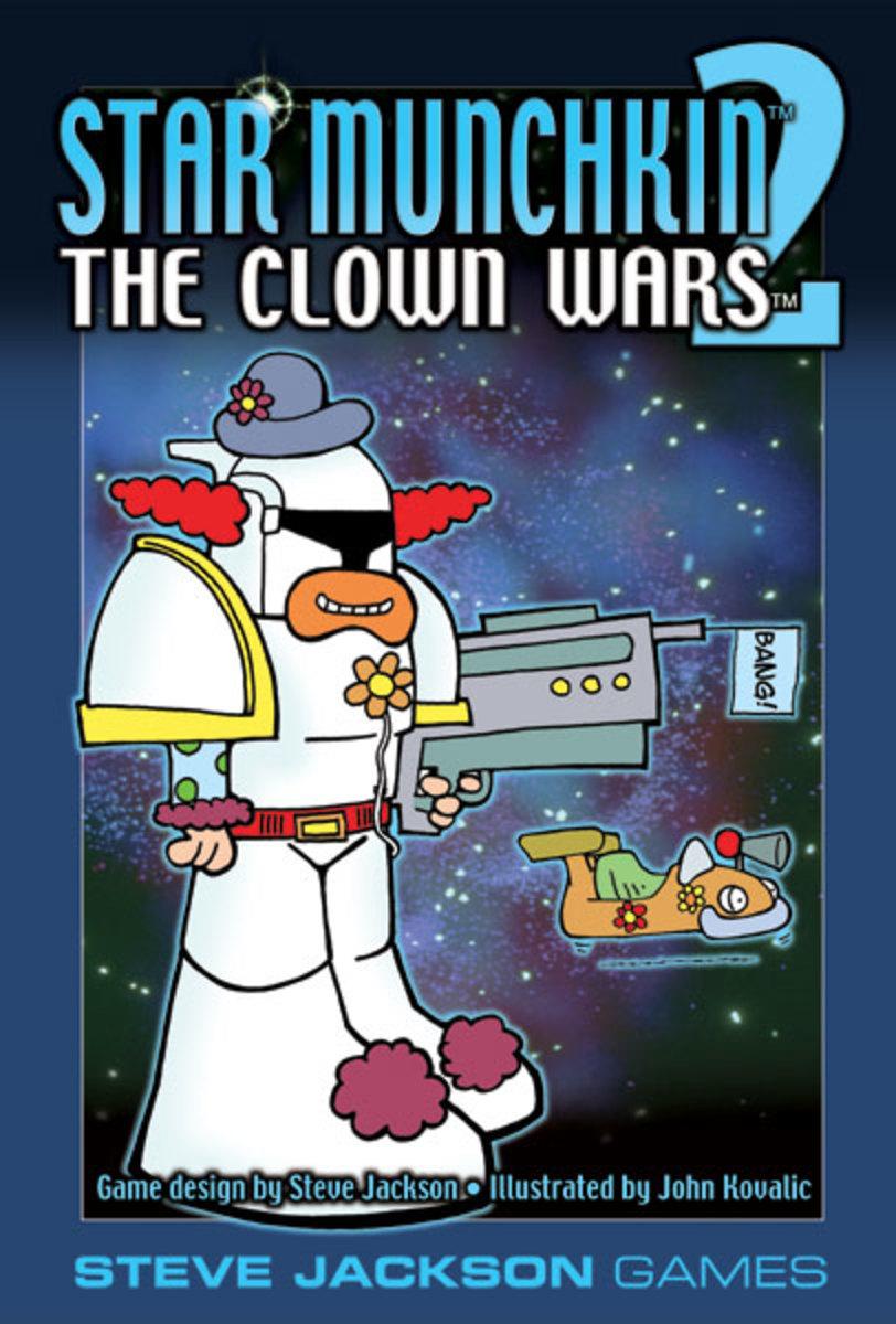 Munchkin Review: Star Munchkin 2 - The Clown Wars