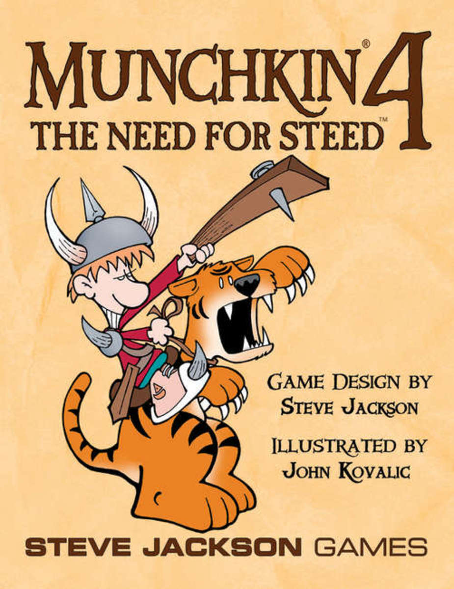 Munchkin Review: Munchkin 4 - The Need for Steed