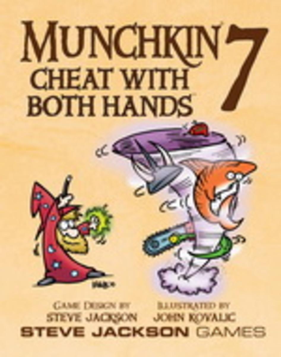 Munchkin Review: Munchkin 7 - Cheat with Both Hands