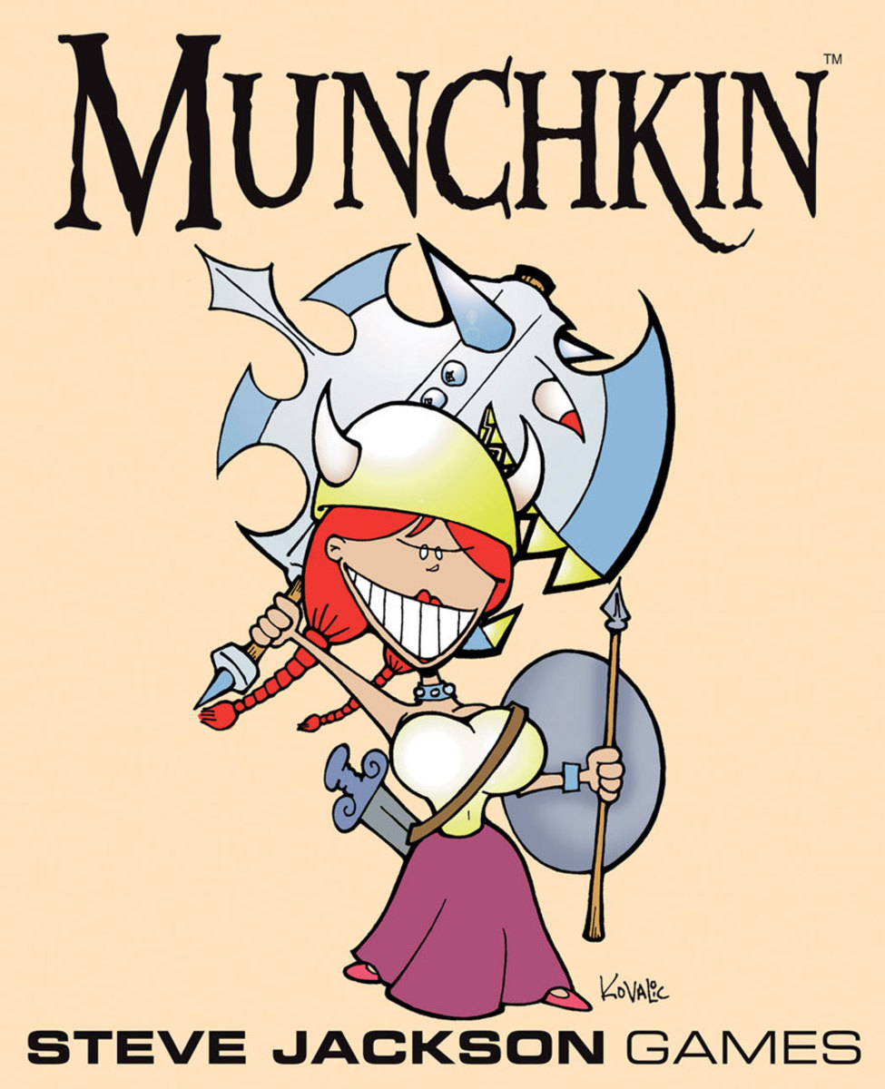 Munchkin Review: Munchkin 2 - The Unnatural Axe