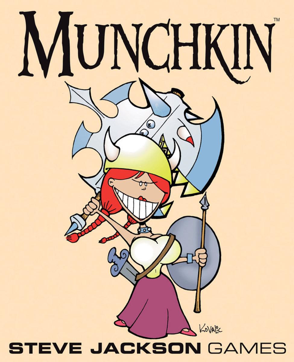 Munchkin Review: Munchkin 2 - The Unnatural Axe