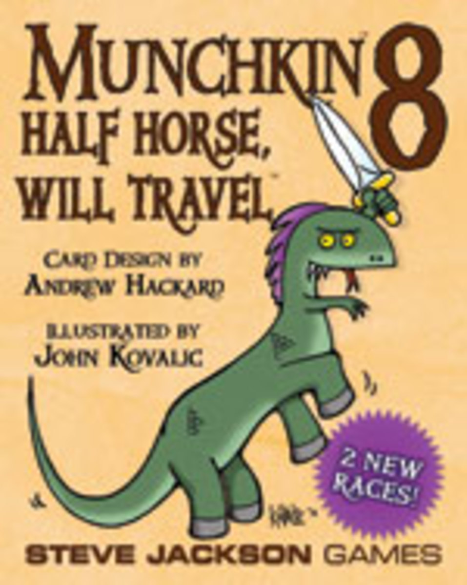 Munchkin Review: Munchkin 8 - Half Horse, Will Travel