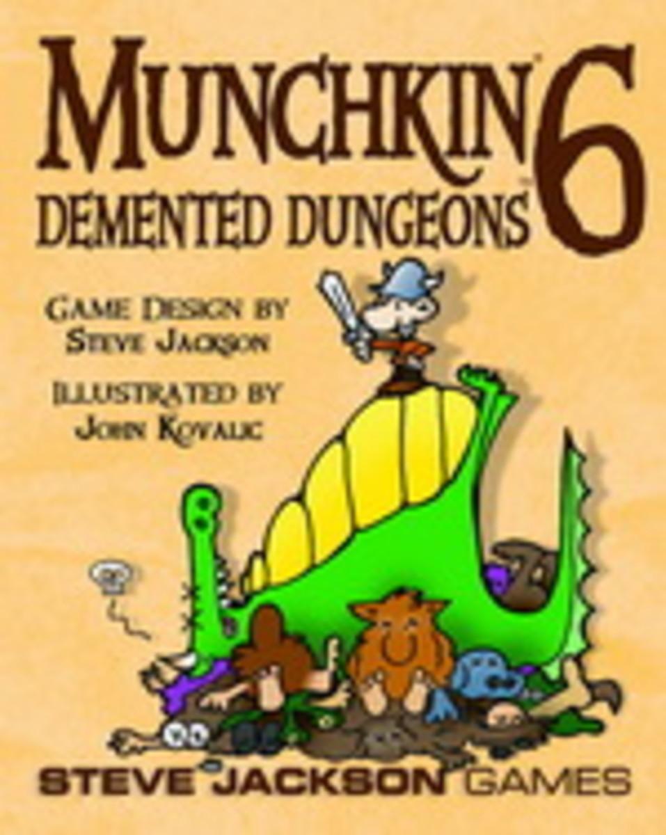 Munchkin Review: Munchkin 6: - Demented Dungeons