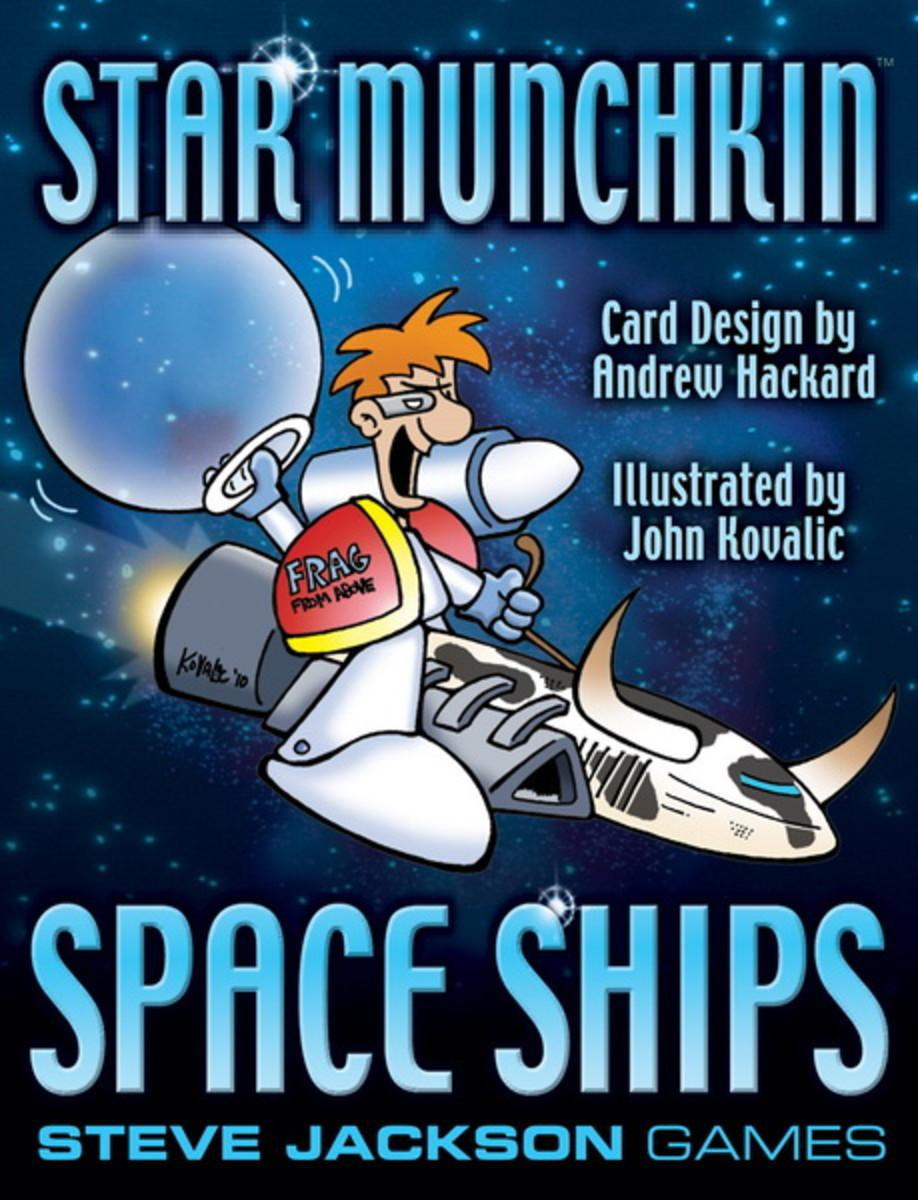 Munchkin Review: Star Munchkin - Space Ships