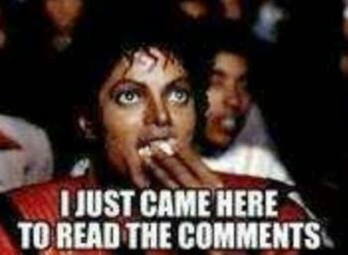 Cyberbullies, social media comments