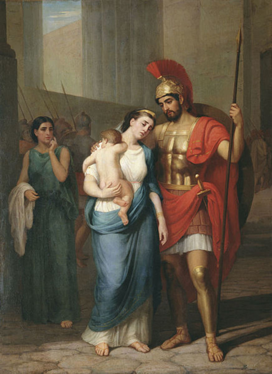 The Heroic Hector in Greek Mythology