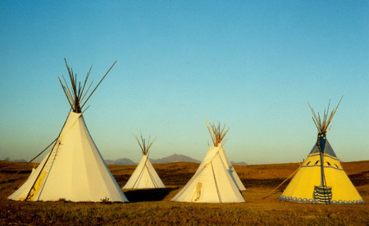 Blackfoot Tipi Village [11]