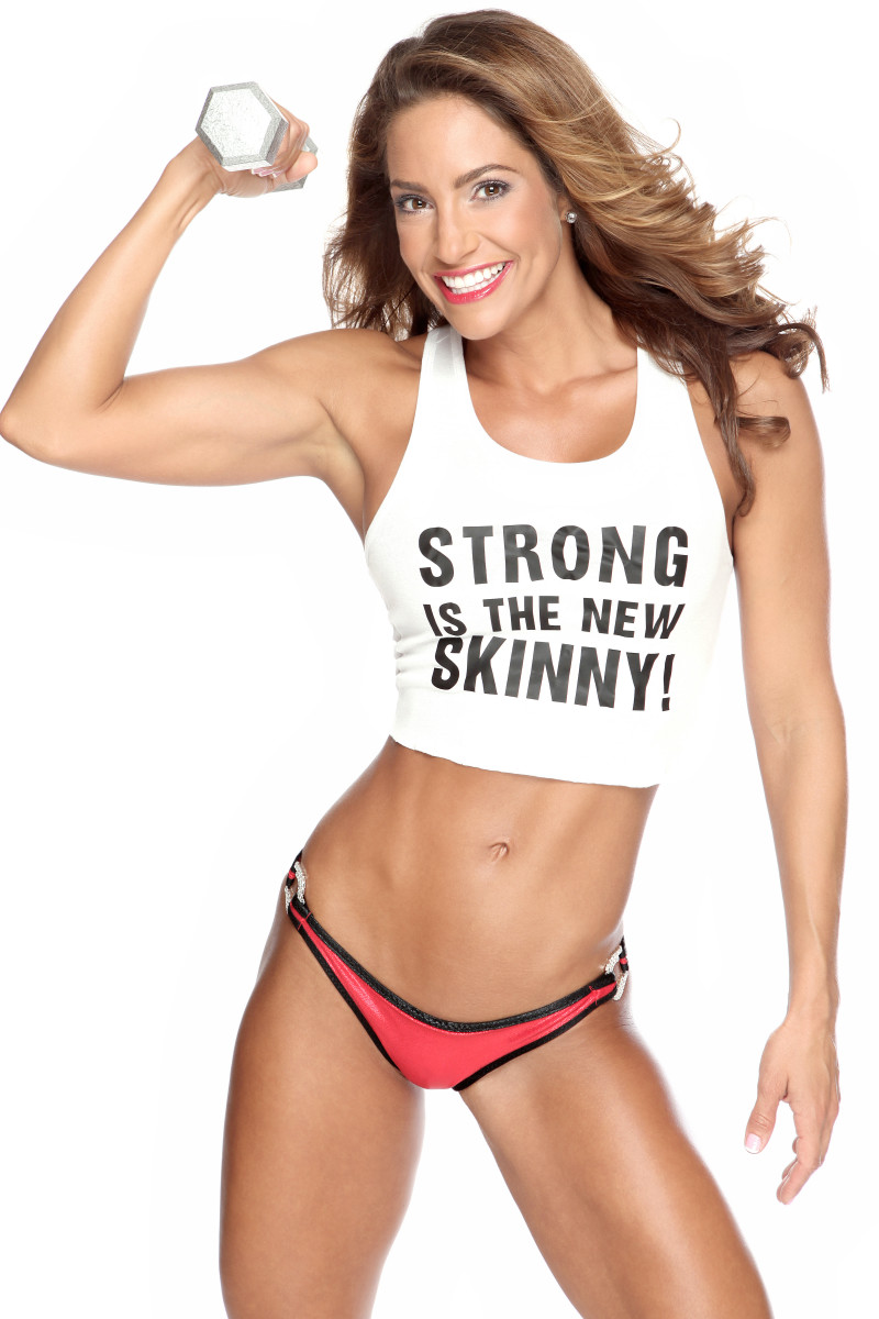 A lean body is good but you also want to have a strong body.