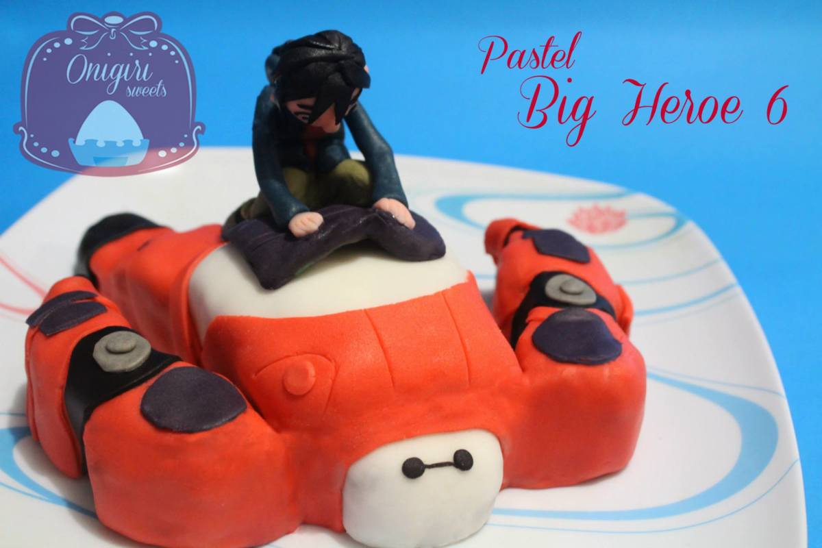 Hiro and Baymax Birthday Cake