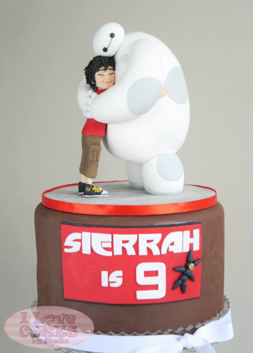 Chocolate Big Hero 6 Pinata Cake