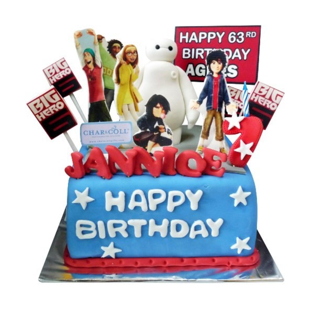 Big Hero 6 Birthday Cake for 60th Birthday